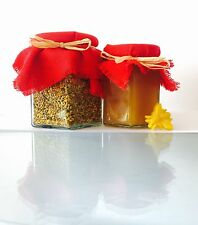 A Selection Of Organic Bee Pollen 200g And Wild Flower Honey 250g