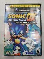 Sonic Adventure DX: Director's Cut (Nintendo GameCube, 2003) No Manual