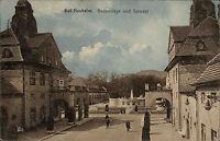 Bad Nauheim Hessen Wetteraukreis AK 1913 Badeanlage Sprudel Brunnen Kur Kurpark
