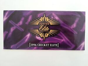 RARE 1996 FUTERA CRICKET ELITE OFFICIAL PROMOTIONAL FLYER