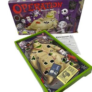 Nightmare Before Christmas Operation Game - New Open Box