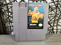 WWF Wrestlemania - Nintendo NES Game Authentic TESTED WORKING