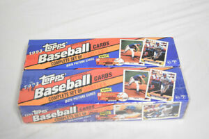 Lot of (2) 1993 Topps Baseball Series 1 & 2 Complete Factory Sets AG266
