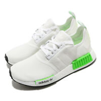 adidas Originals NMD_R1 BOOST White Black Solar Green Men Women Unisex FX3096