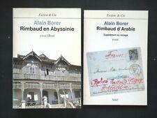 RIMBAUD EN ABYSSINIE 2 VOLUMES AVEC SUPPLÉMENT AU VOYAGE - PAR ALAIN BORER