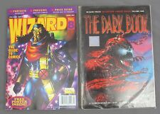 Wizard Comics #8 April 1992 w/ Poster & The Dark Book Collectors Library Series
