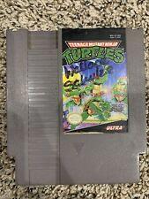 New ListingTeenage Mutant Ninja Turtles (Nes, 1989) Game Cart Cleaned And Tested