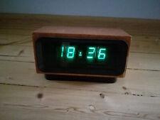 ELEKTRONIKA - 4. Russian Vintage  VFD NIXIE TUBE CLOCK. Rare!!