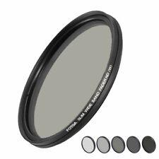 Fotga Filtro ND Variabile da ND2 a ND400 per Obiettivi con Diametro 58mm