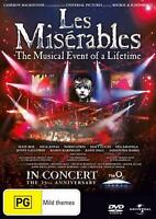 Les Miserables (2010) (25th Anniversary Concert At the O2) - DVD Region 2 Free S