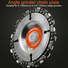 """4 """" Chain Grinder Disc Angle Grinder Sanding Disc Chainsaw Circular Saw Blade"""