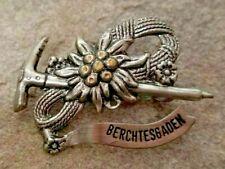 BERCHTESGADEN Town Alps Travel Oktoberfest Bavarian Souvenir Hat Pin Germany