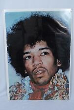 "1982 Jimi Hendrix Poster ""Close Up"" Printed by NOMIS Productions in England"