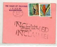 JAMAICA Kingston *UNCLAIMED* Religious Reply Card 1978 {samwells-covers}CY97