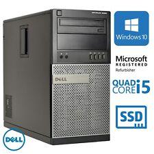 Dell Optiplex 9020 Tower i5 4570 3.2Ghz 8GB DDR3 256GB SSD Windows 10 Pro - B