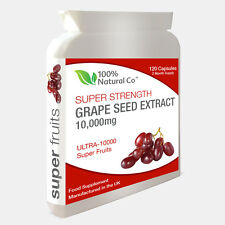 Grape Seed Extract Capsules  - 120 Capsules - Antioxidant, Anti Inflammatory