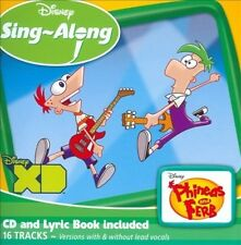 PHINEAS AND FERB - DISNEY SING-ALONG: PHINEAS AND FERB NEW CD