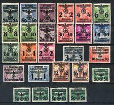 Briefmarken Generalgouvernement 14 - 39 ungebraucht