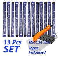 WINN DriTac Blue  Set 13 Blau Golf Griffe Golf Grip + Tapes Standard Size+Tools