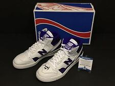 James Worthy Signed New Balance Shoes Sneakers P740LA Beckett BAS B58926