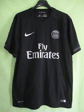 Maillot PSG Paris saint Germain Fly Emirates PSG 2015 Noir jersey Nike Third - M