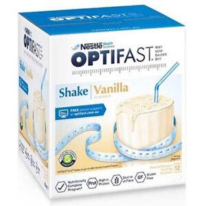 Optifast Milkshake Vanilla 54g x 12