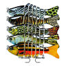 10cm Realistic Fishing Bait Lure Multi-jointed Life-like Panfish Plastic