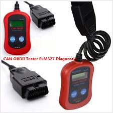 MS300 Fault Code Reader Scanner Diagnostic OBD2/ELM327 Engine Fault LCD display