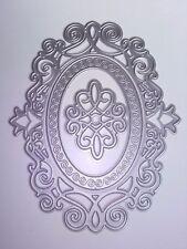 3 Oval corte Celta Die tarjetas colección de recortes planificador diario de decoración del hogar