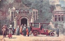 POSTCARD    ROYALTY    EDWARD  VII  Lismore  Castle  Motor  Drive    TUCK