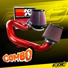03-06 Toyota Matrix XR 1.8L Red Cold Air Intake + K&N Air Filter