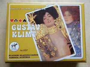 Gustav Klimt Piatnik Playing Cards Spielkarten Kartenspiel Romme Bridge Karten