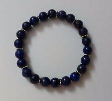 """Bracelet en perle semi précieuse """"Lapis Lazuli"""" fait main"""