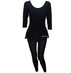 Ladies Modest Cover Up Islamic Style 2 Piece Swimming Swim Costume Swimsuit