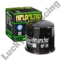 HF138 oil filter Kawasaki KLV 1000 A 04 05 06 Hiflo Filtro