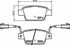 MINTEX MDB3303 BRAKE PAD SET DISC BRAKE Rear