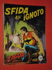 ZAGOR- NO ZENITH- N°63-originale DA LIRE 350 -1975 **NOME ROSSO-GALLIENO FERRI