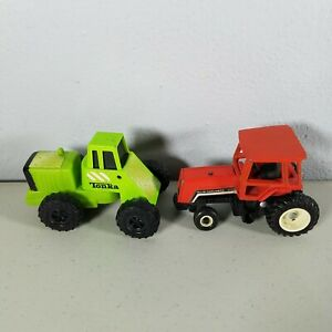 Allis Chalmers Tractor 1995 Red & McDonalds Green Tonka Tractor