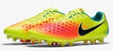 New Men Nike Magista Opus II ACC FG Soccer Cleats Sz 9  Volt Orange  843813-708