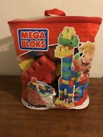 Mega Bloks 80-Piece Big Building Bag, Complete With Extra Pieces Included