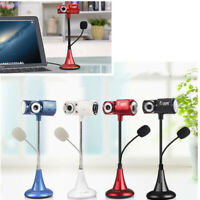 USB HD Webcam Camera Web Cam With Microphone For Computer PC Laptop Desktop UK