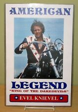 """EVEL KNIEVEL """"American Legend"""" 11x17 Poster #2"""