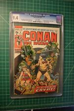 CONAN THE BARBARIAN #8 CGC GRADED AT 9.4 AUG 1971 WHITE PAGES