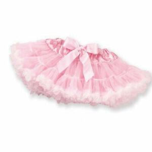 Lot of 2 - Bearington Baby Collection Pink Petticoat Tutu & Bear Rattle - New