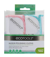 Ecotools Muslin Polishing Cloths (Pack of 2)