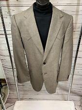 circle s western jacket Men Sz 46l Brown
