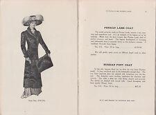9067 Tuttle Clark Furs '09 catalog Detroit MI Peoples State Bank George H Russel