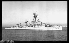USS Preston DD-795 postcard US Navy Destroyer