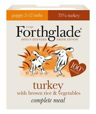 Forthglade Complete Puppy Turkey and Brown Rice 18x395g Wet Dog Food