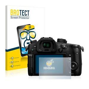 Panasonic Lumix DC-GH5, 2 x BROTECT® HD-Clear Screen Protector, hard-coated
